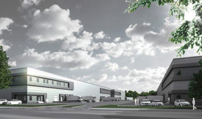 Logistikzentrum Wiesenauer Straße Hannover